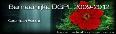 Barnaamijka DGPL 2009-2012.